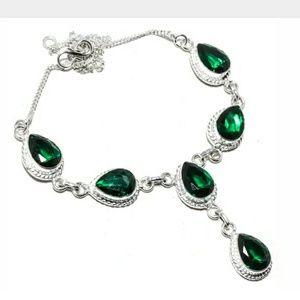 Jewelry - Chrome Diopside choker